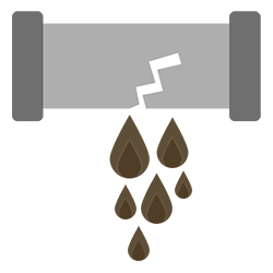 Sewage Cleanup Icon