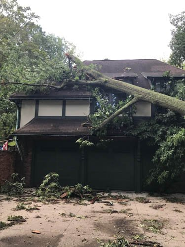 Storm Cleanup & Restoration in Cleveland Heights BEFORE 4