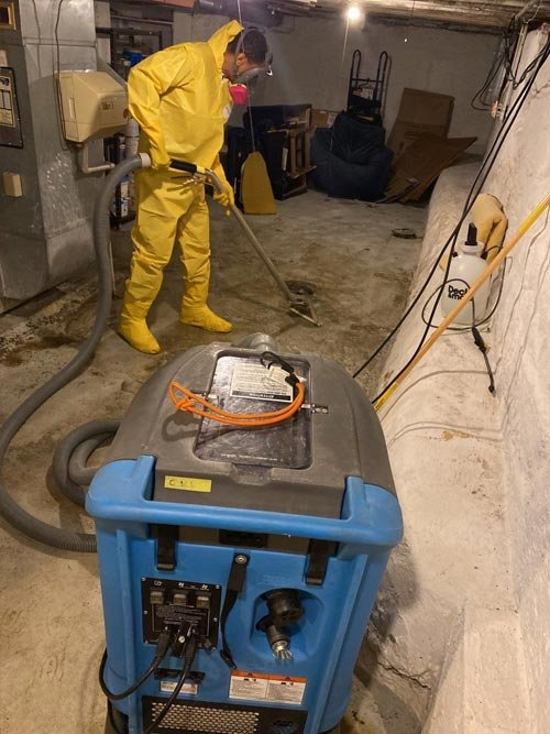 sewage cleanup in Bedford Ohio