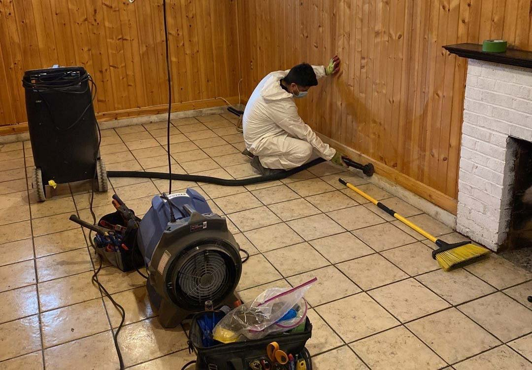 water damage cleanup in Cleveland Heights, Ohio