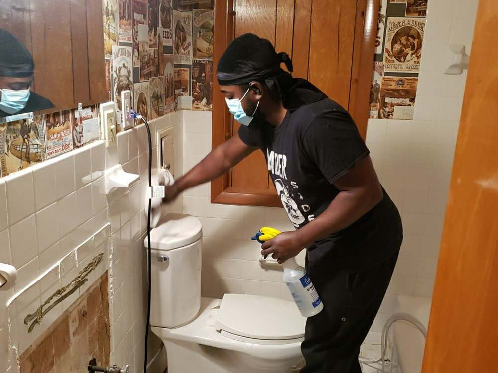 water damage cleanup in Parma Ohio