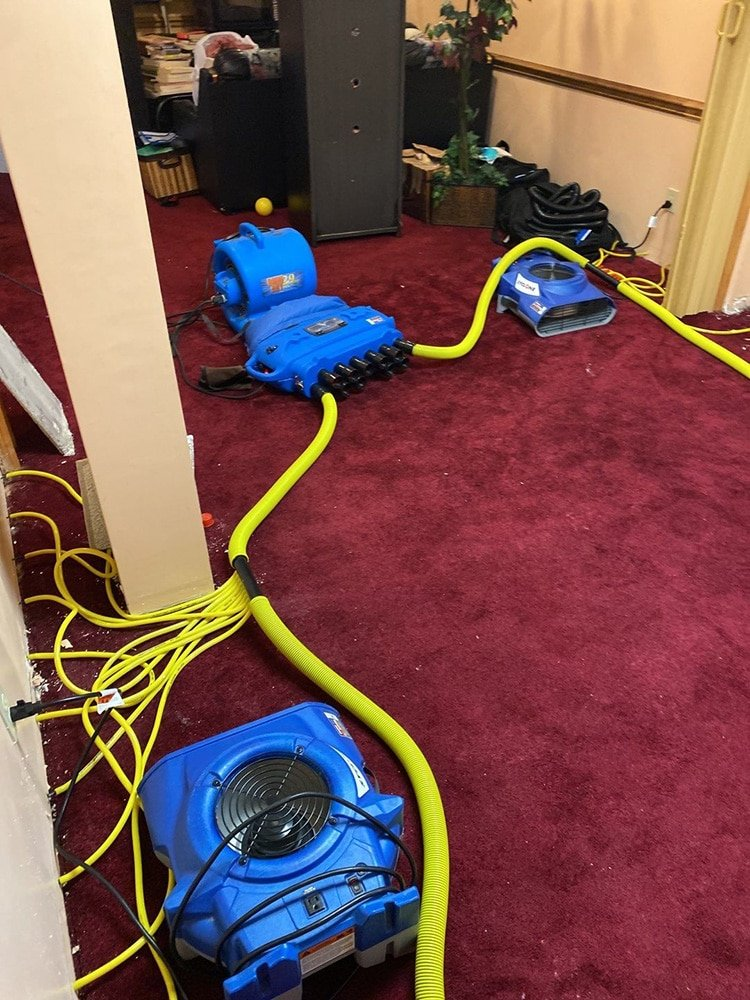 water damage cleanup in solon ohio2