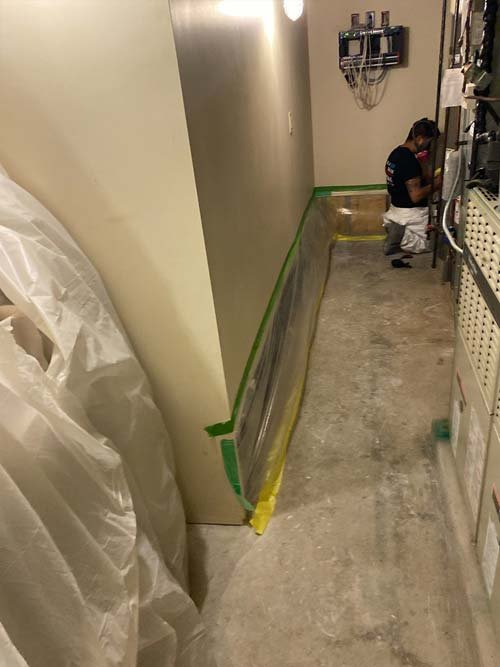 water damage cleanup in Cleveland