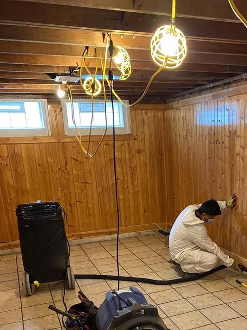 water damage cleanup in Cleveland Heights2