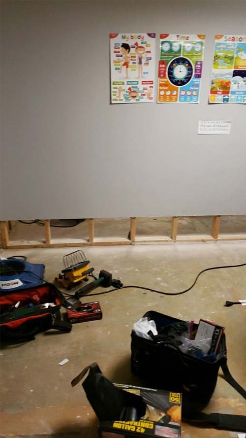 water damage cleanup in Maple Heights Ohio2